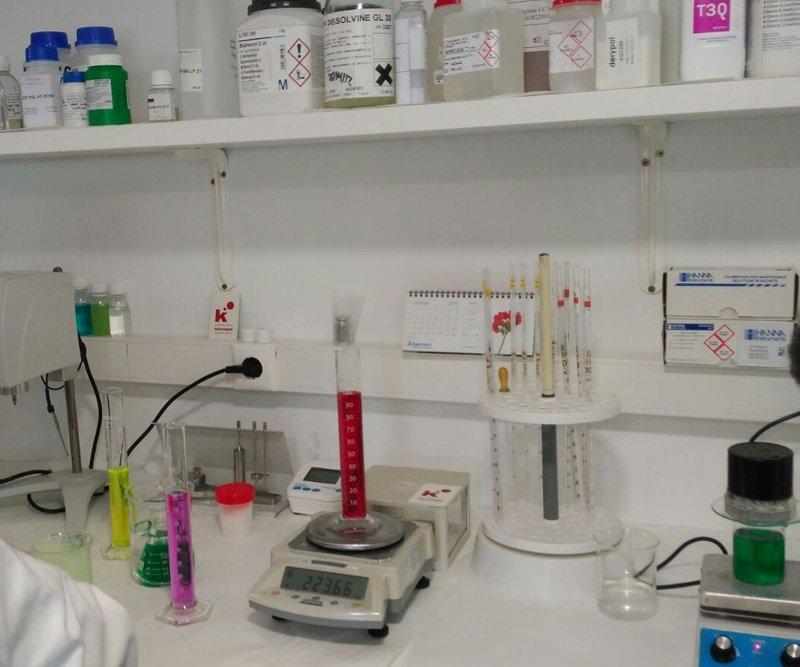 Útiles de laboratorio